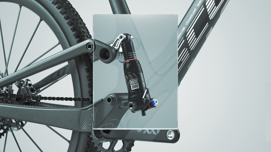 PATENTED INTEGRATED SUSPENSION SYSTEM