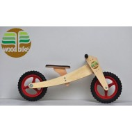 KIT BIKE INFANTIL WOODBIKE 2X1 - VERMELHA