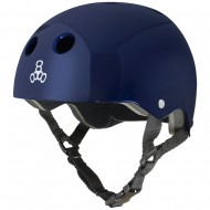 CAPACETE TRIPLE EIGHT BLUE METALLIC