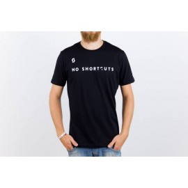 CAMISETA MASCULINA NO SHORTCUTS PTO