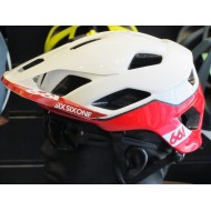 CAPACETE EVO AM PATROL HELMET CPSC WHITE/RED