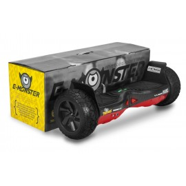 HOVERBOARD 700W TWODOGS MONSTER - VERMELHO CARBONO