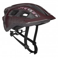 CAPACETE SCOTT SUPRA - MAROON/RED - 2020