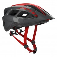 CAPACETE SCOTT SUPRA - GREY/RED - 2020