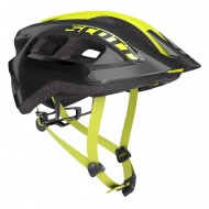 CAPACETE SCOTT SUPRA - BLACK/RADIUM YELLOW - 2020